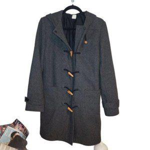 J. Crew Wool Toggle Closure Coat
